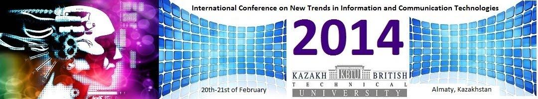 Международная конференция новых тенденций в информационных и коммуникационных технологиях (ИКТ 2014)