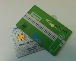 Студенческая и автобусная карточка где используется NFC
