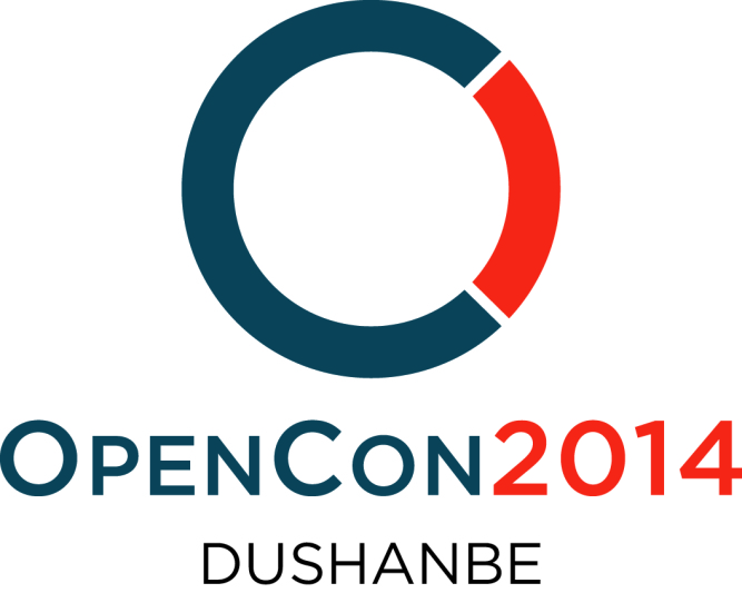 OpenCon2014 LOGO simple Dushanbe