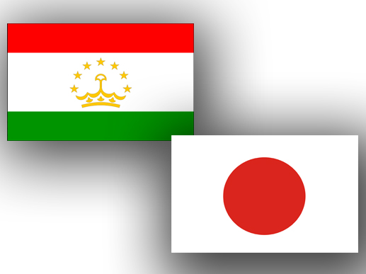 Tajikistan_Japan_flags_300113